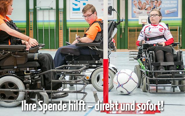 Ihre Spende für den Behindertensport